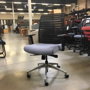 used all seating task chair mesh back