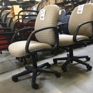 used la z boy beige chairs