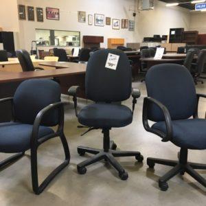 used la z boy blue chairs