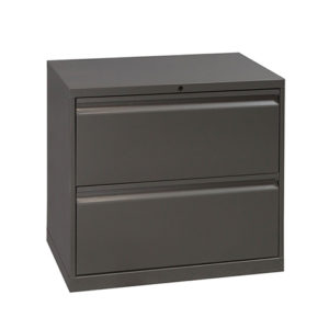 knoll-30inch-2-drawer-lateral-gray