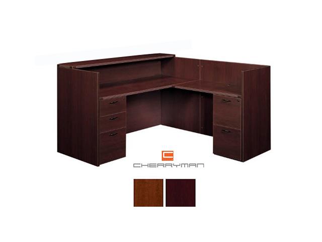 New Cherryman Amber Reception Desk on Cherryman Office Furniture
