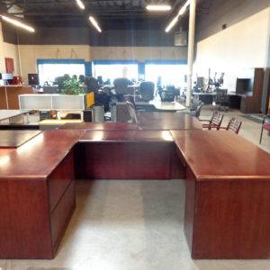 hon-veneer-u-shape-desk