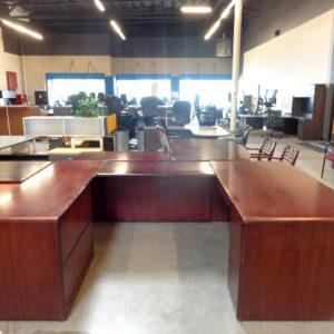 hon-veneer-u-shape-desk