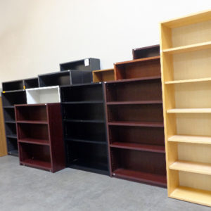 used-laminate-book-case-factory-blem