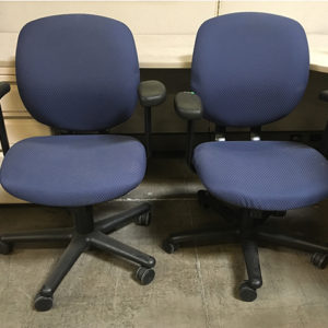 used-alsteel-blue-fabric-chair