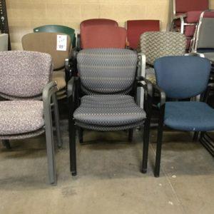 Haworth improv stack chairs