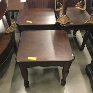 used wood end tables