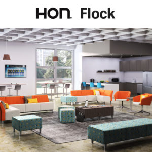 HON Flock Seating