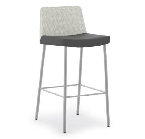 HON Flock Seating 4-Leg Stool