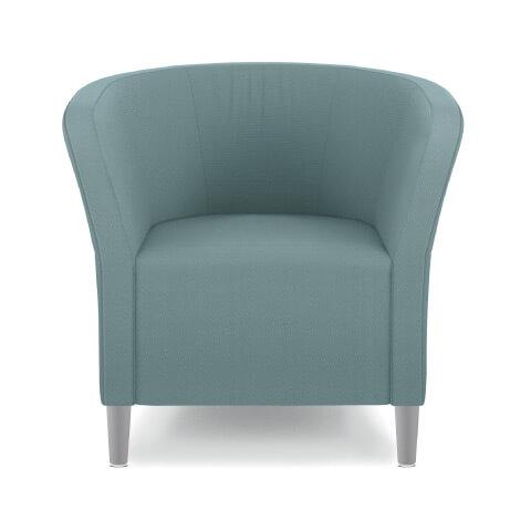 HON Flock Seating Round Lounge