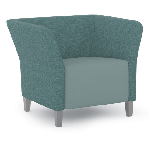 HON Flock Seating Square Lounge