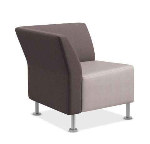 HON Flock Seating True Corner
