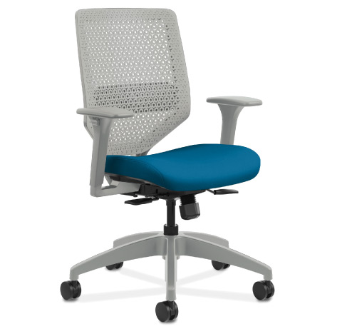 HON Solve Task Chair Titanium Frame