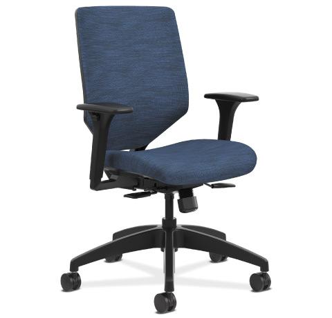 HON Solve Task Chair Upholstered Back