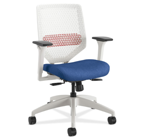 HON Solve Task Chair White Frame