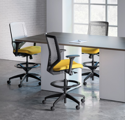 HON Solve Task Chairs & Stools 3