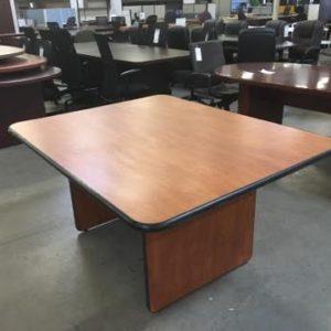 6 foot desk. 6-foot-cherry-lmainate-with-blk-edge 6 Foot Desk B