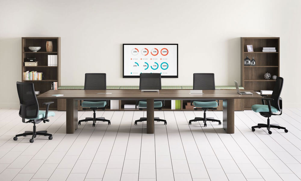 HON Preside Large Conference Table