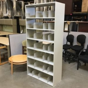 72 inch open file shelf