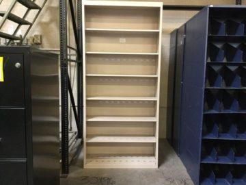 72 inch metal file shelf