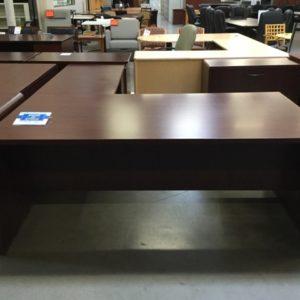 mahogany-l-shape-desk-front