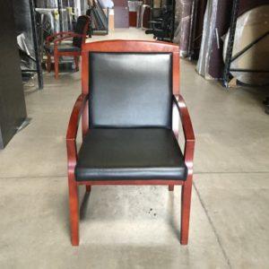 wood-w-blk-vinyl-seat