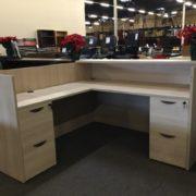 Stilles reception desk rear