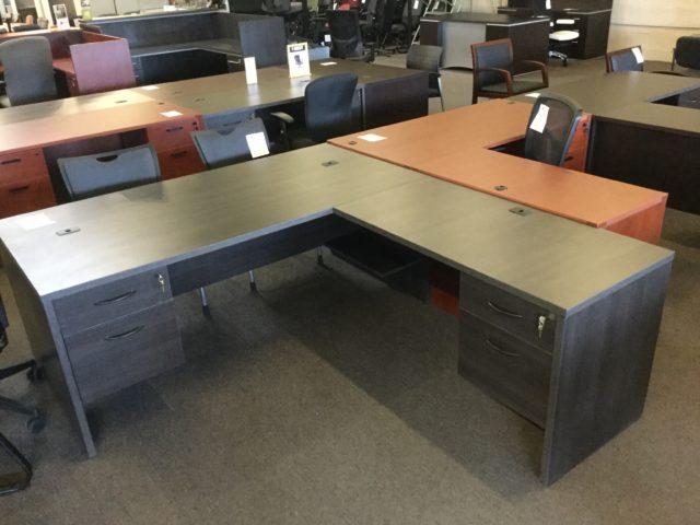 New 36x72 L Shape Desk 2100 Series Arizona Office Furniture