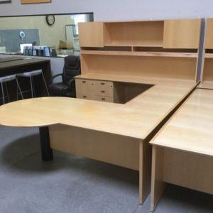 Used maple desk