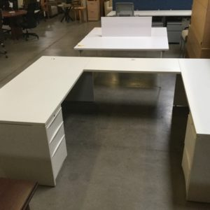 U shape desk
