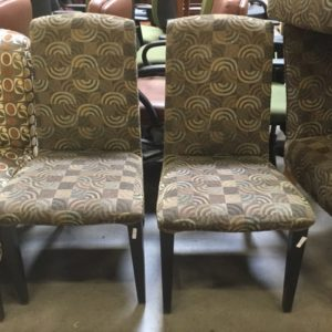 used armless chair