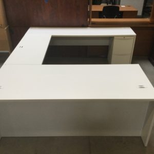 U shape desk