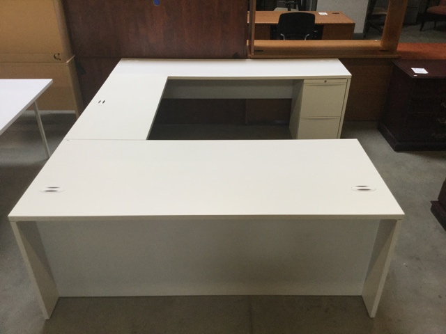 Used Teknion U Shape Desk - Arizona Office Furniture