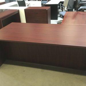 case l shape desk