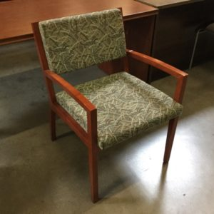 Gunlocke guest chair