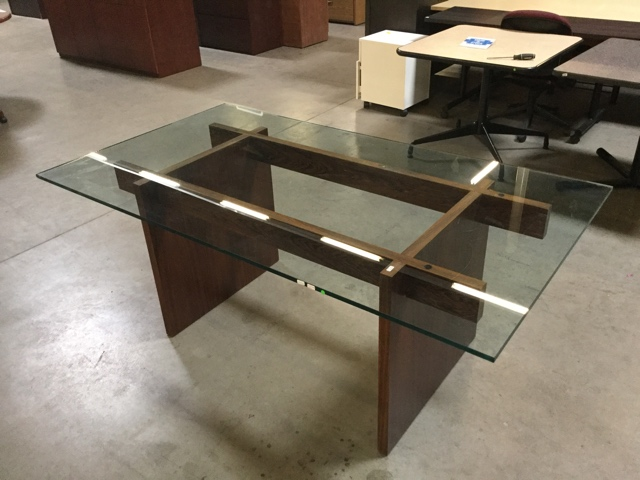 Used Glass Top Conference Table Arizona Office Furniture - Glass conference table for sale