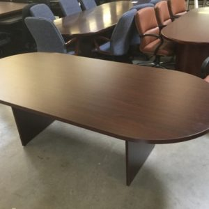 Racetrack conference table