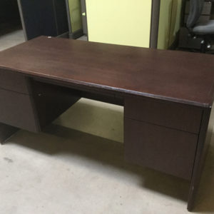 Small wood desk