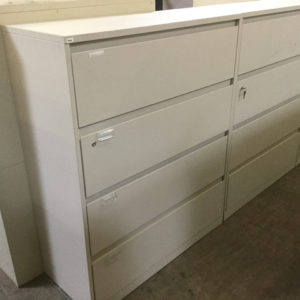 Steelcase 4 drawer file