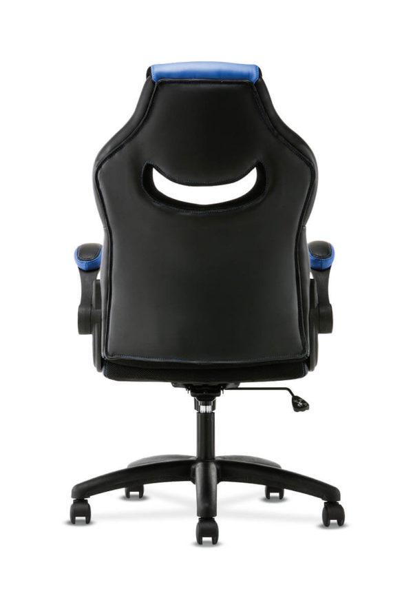 hon sadie gaming chair blue back