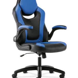 hon sadie gaming chair blue side