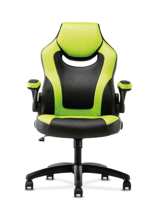 hon sadie gaming chair green