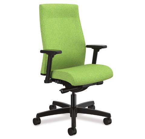HON Ignition 2.0 Upholstered Back