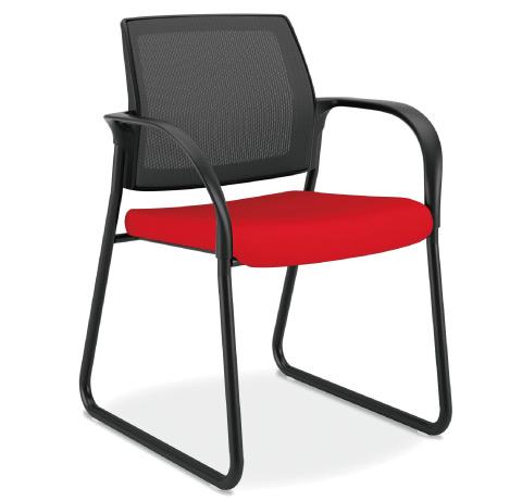 HON Ignition Multipurpose Mesh Back Chair Sled Base