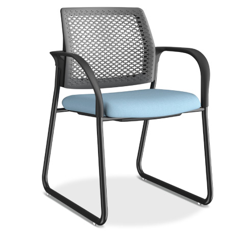 HON Ignition Multipurpose ReActiv Back Chair Sled Base