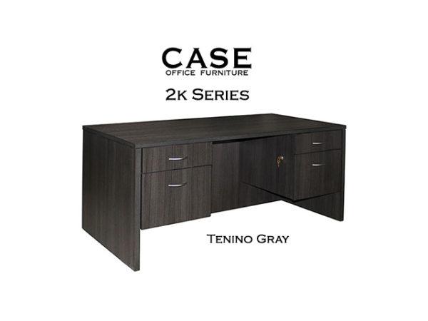 30x60 double ped desk