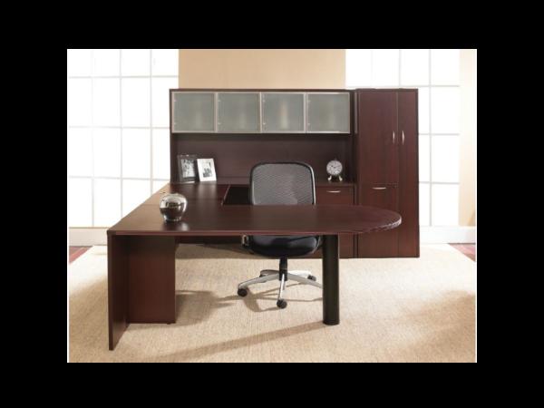 napa desk with storage cabinet