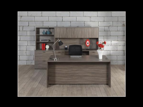 napa executive desk with credenza