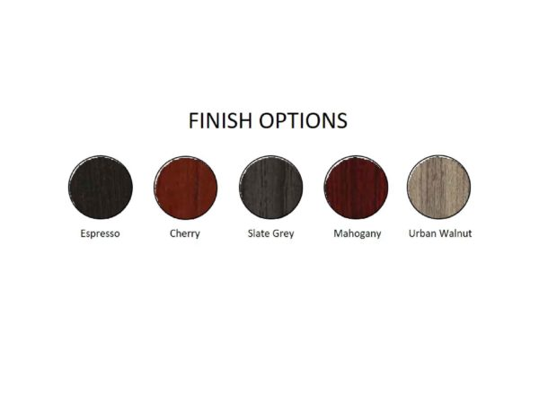 napa finish options