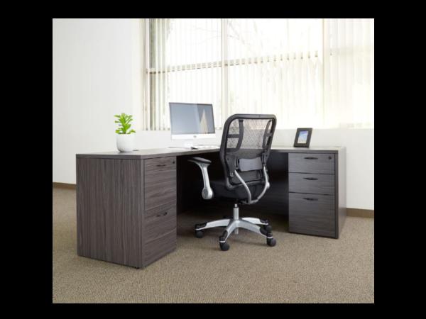 napa slate grey desk